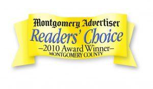 Montgomery advertiser readers' choice 2010 award winner