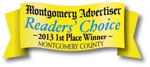 Montgomery advertiser reader's choice 2013 award winner