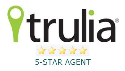 Trulia 5-Star Agent Logo